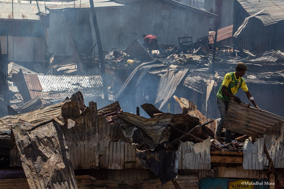 Fires in Kibera