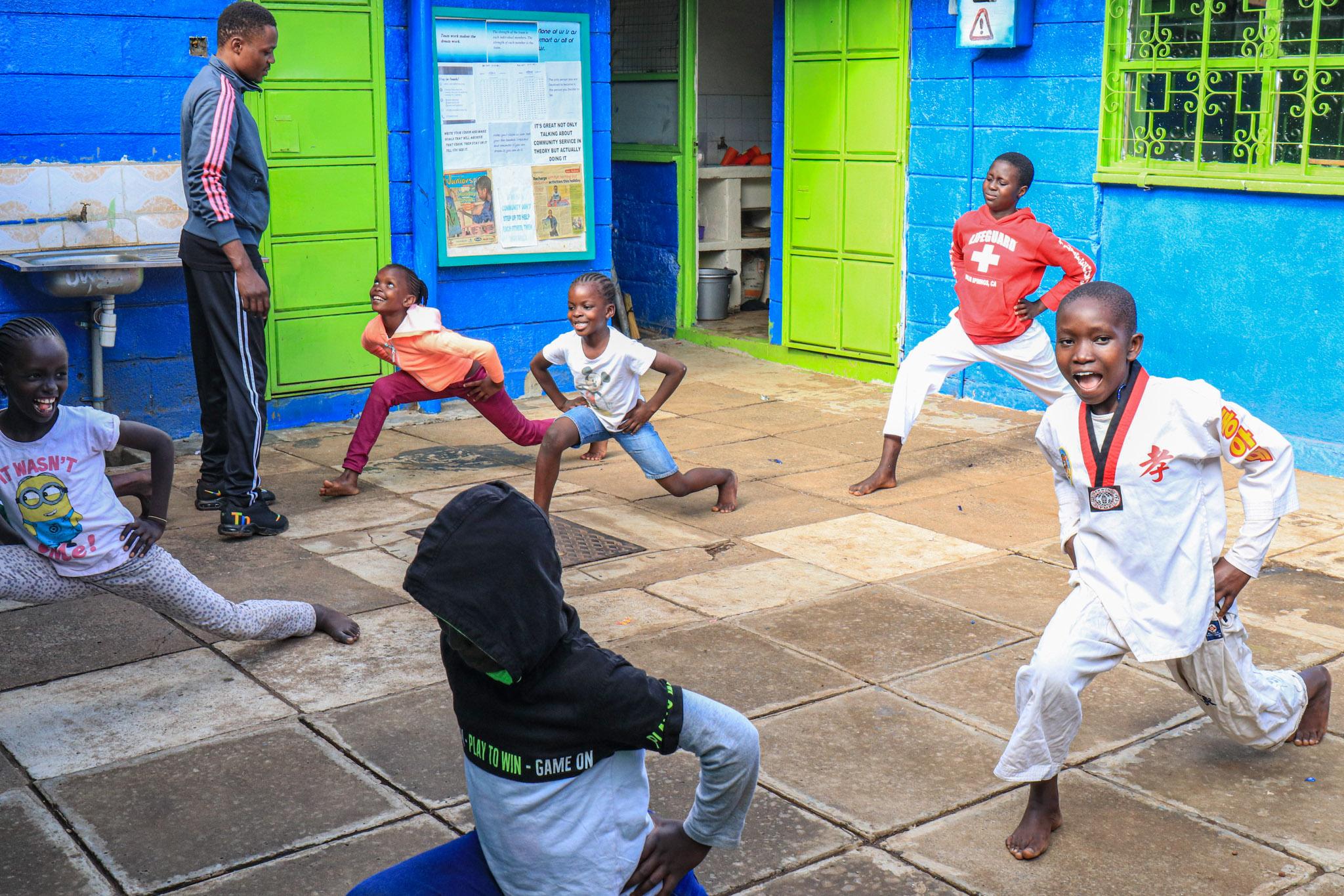 Taekwondo lessons are back