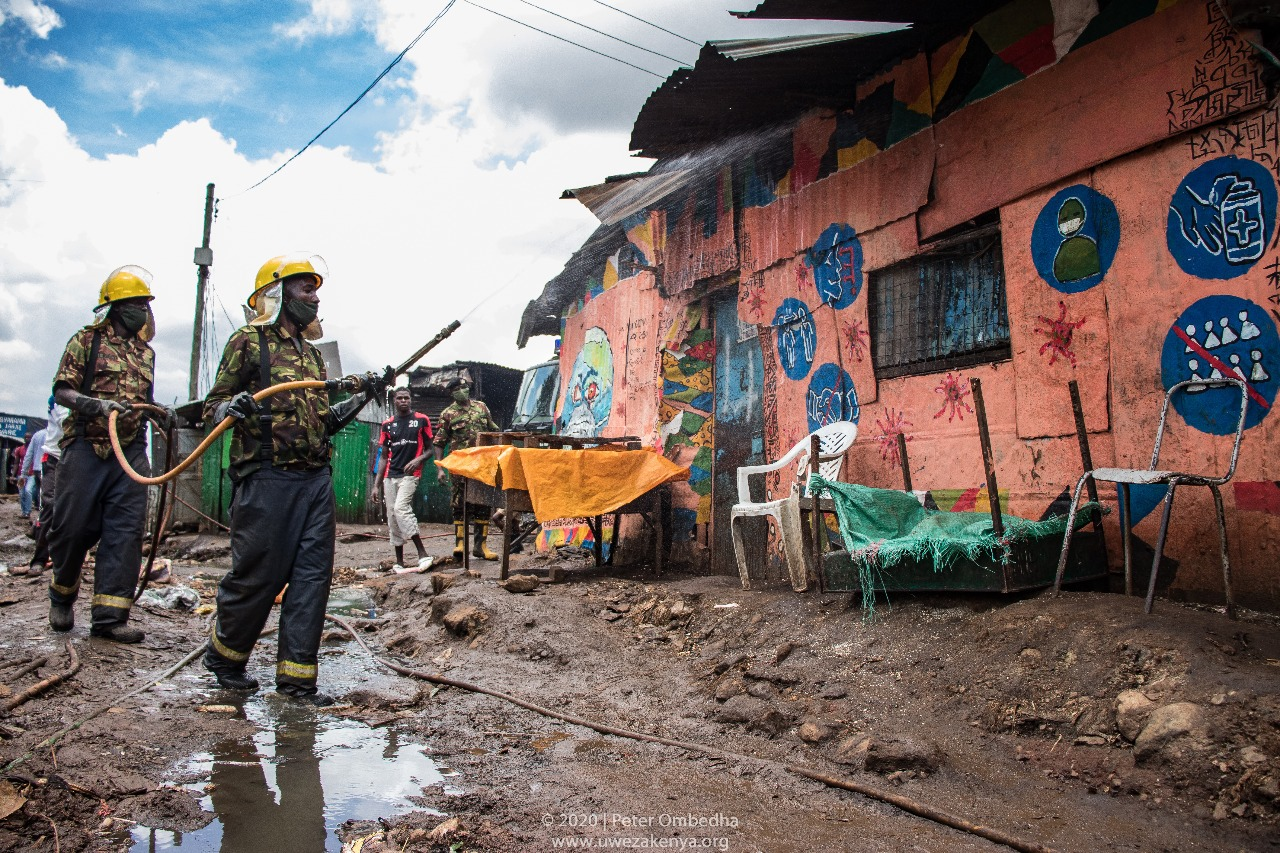 Life in Kibera During COVID-19 Through the Lens