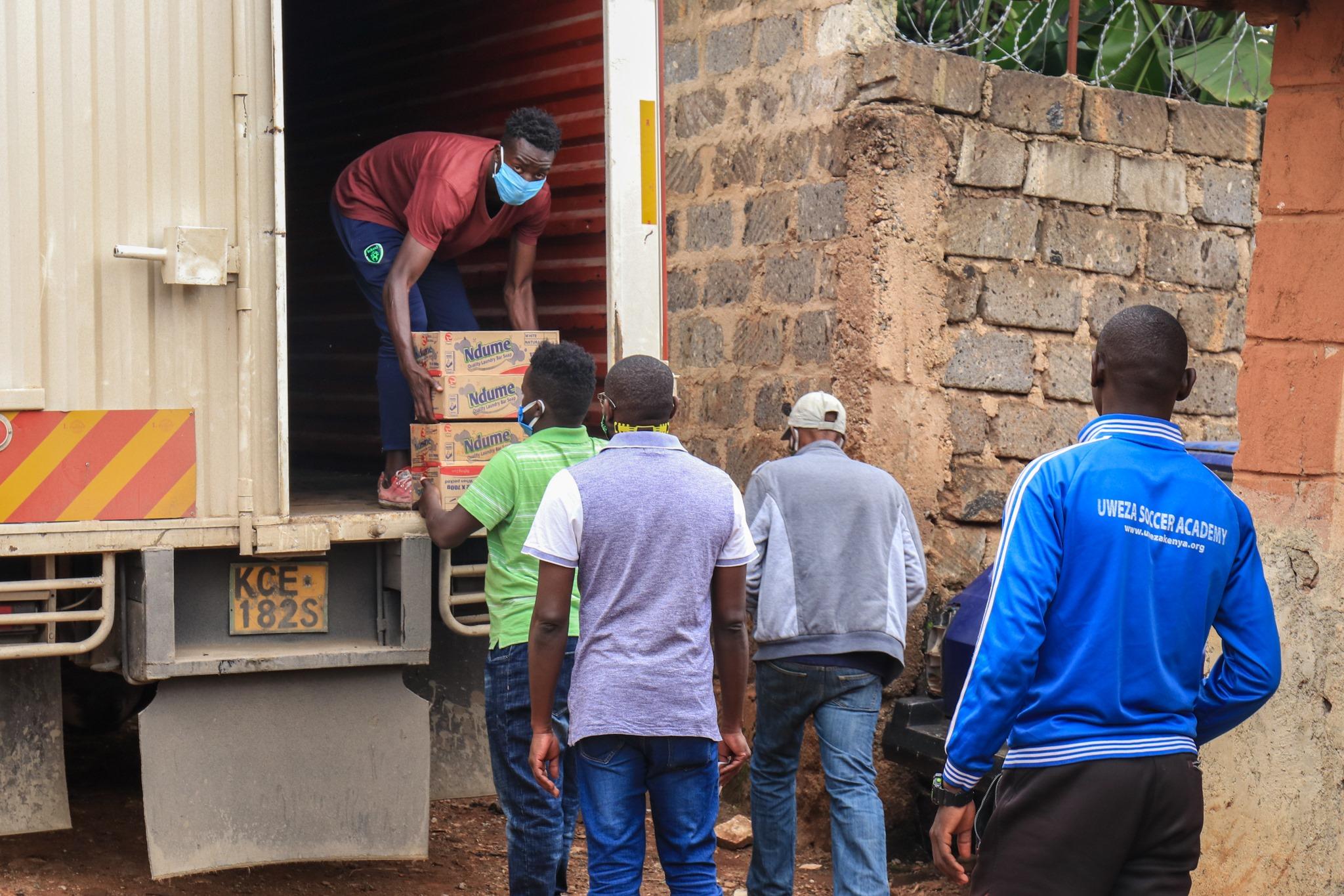 Grateful to Make New Partner of Safe Hands Kenya,